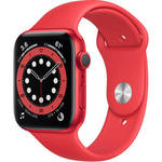 Watch Series 6 (GPS, 44mm, PRODUCT(RED) Aluminum, PRODUCT(RED) Sport Band) Product Image