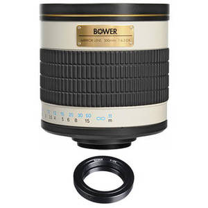 500mm f/6.3 Manual Focus Telephoto Lens Kit for Pentax K-Mount Camera Product Image