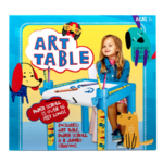 Plastic Coloring Table with Roll Paper Product Image