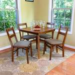 5pc Folding Chair & Table Set