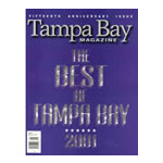 Tampa Bay Magazine - 6 Issues - 1 Year