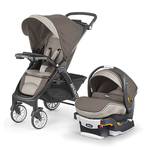 Bravo LE Trio Travel System Latte Product Image