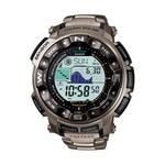 PRO TREK Solar Powered Watch Titanium Band Product Image
