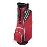 """W"" Cart Bag Red Product Image"