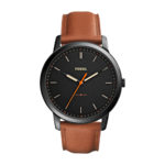 Fossil Men's The Minimalist Brown Leather Watch Product Image