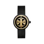 Tory Burch Reva Leather Watch Product Image