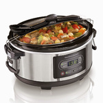 5 Qt. Programmable Stay or Go Slow Cooker Product Image