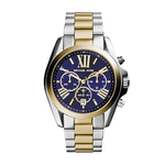 Womens Bradshaw Two-Tone Watch Blue Dial Product Image