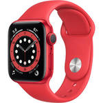 Watch Series 6 (GPS, 40mm, PRODUCT(RED) Aluminum, PRODUCT(RED) Sport Band) Product Image