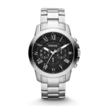 Fossil Men's Grant Chronograph Stainless Steel Watch Product Image