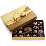 GODIVA 19 Piece Nut & Caramel Assortment Gift Box Product Image