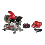 "M18 FUEL 7.25"" Dual Bevel Sliding Miter Saw Kit Product Image"