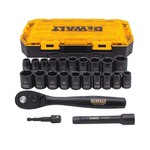 "23pc 1/2"" Drive Combination Impact Socket Set Product Image"