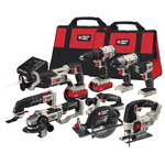 20V MAX Lithium-ion 8-Tool Combo Kit Product Image