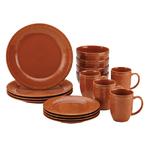 Cucina 16pc Dinnerware Set Orange Product Image