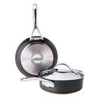 3pc Nouvelle Copper Cookware Set Product Image
