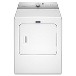 7 Cu Ft Large Capacity Gas Dryer w/ Steam Enhanced White Product Image