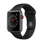 S3 Cell 42mm Space Gray Case w/ Black Sport Band Product Image