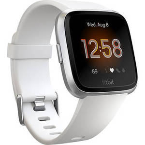Versa Lite Edition Smartwatch (White/Silver) Product Image
