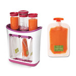 Baby Food Maker w/ 50pk Squeeze Pouches Product Image