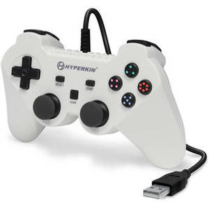 Brave Knight Premium PS3 Controller (White) Product Image