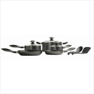 Mirro Get-A-Grip 10-Piece Cookware Set - Black Product Image