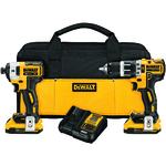 20V MAX XR Hammerdrill and Impact Driver Kit Product Image