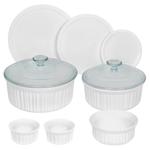 French White 10pc Bakeware Set Product Image
