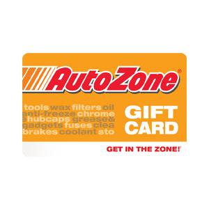 AutoZone Gift Card $100 Product Image