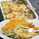 30oz Creamed Spinach & 32oz Baked Potato Casserole Product Image