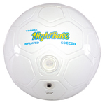 NightBall LED Light Up Soccer Ball - Size 4 Pearl White Product Image