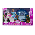 Princess Doll with Horse and Carriage Product Image