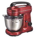 7-Speed 4qt Stand Mixer Red Product Image