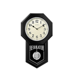 Schoolmaster Pendulum Chime Wall Clock Product Image