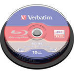 Re-Writable Blu-ray Discs (25GB, 10-Pack) Product Image