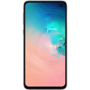 Galaxy S10e SM-G970U 128GB Smartphone (Unlocked, Prism White) Product Image