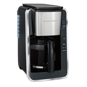 12 Cup Programmable Coffeemaker w/ Stainless Steel Accents Product Image