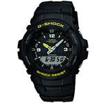 Anti-Magnetic G Shock Watch Yellow Product Image