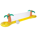 Luxe Inflatable Volleyball Set Tropical Island Product Image