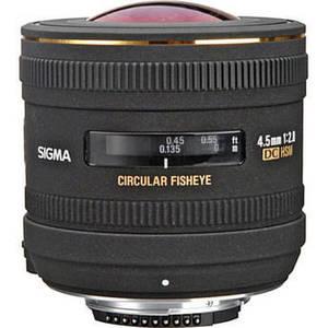 4.5mm f/2.8 EX DC HSM Circular Fisheye Lens for Nikon F Product Image