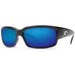 Caballito Black Sunglasses w/ Blue Mirror 580p Lens Product Image