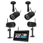 ObserverHD Full HD In/Out Surveillance w/ 4 Cameras Product Image