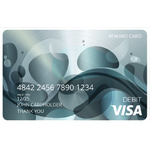 Physical Visa® Prepaid Card USD $100