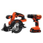20V MAX Drill/Driver & Circular Saw Combo Kit Product Image