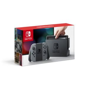 Switch & Accessories Package (Console, Charging Grip and A/C Adapter) Product Image