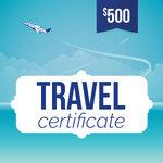 Online-Rewards travel voucher $500