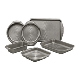 6pc Total Bakeware Set Gray Product Image