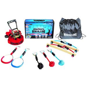 Slackers Ninjaline 36ft Intro Kit w/ 7 Hanging Obstacles Product Image