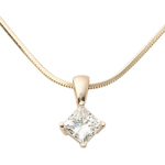 Yellow Gold .25ct Diamond Necklace Product Image