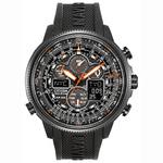 Mens Navihawk A-T Eco-Drive Multi Dial Black Watch Product Image